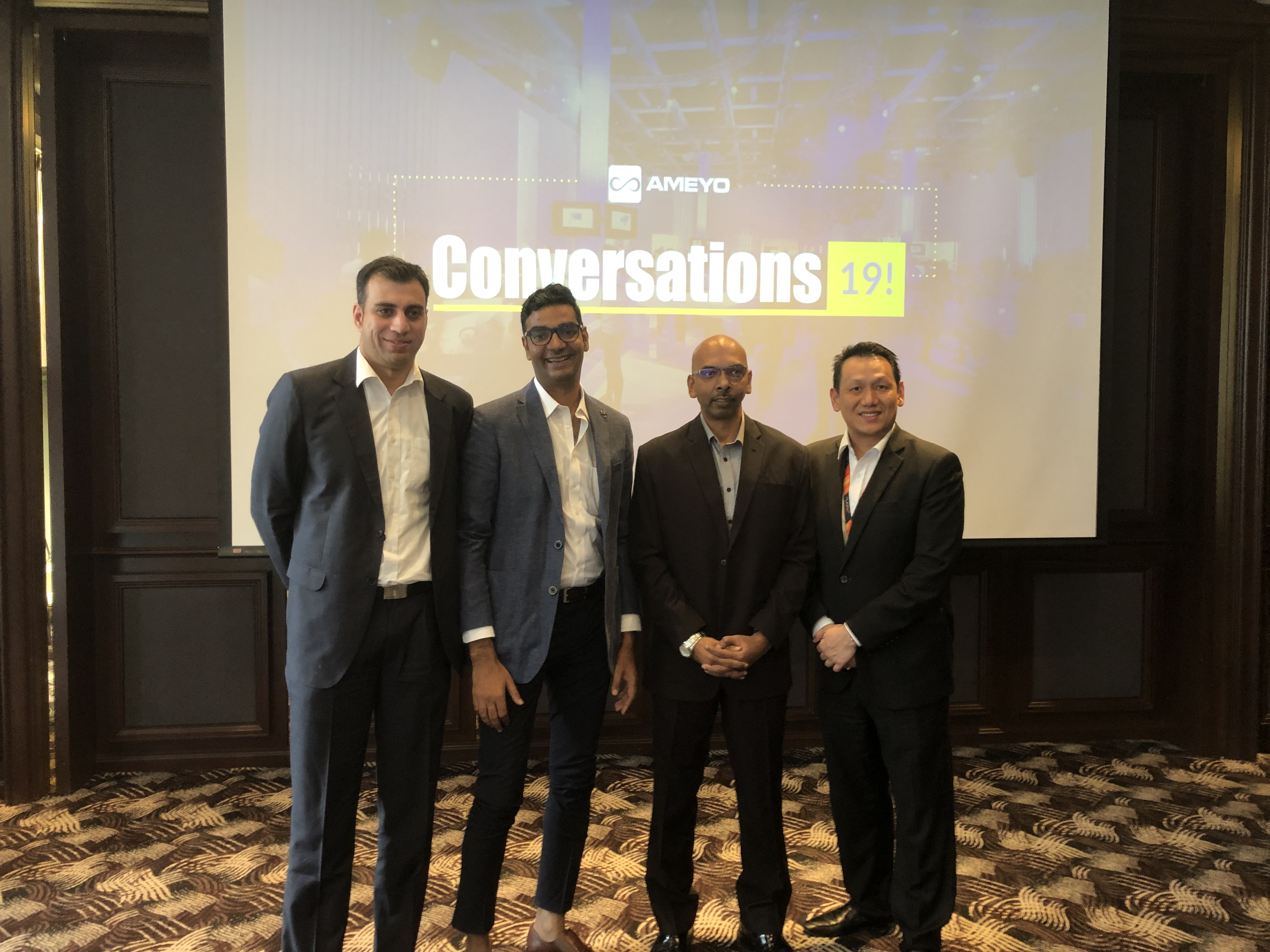 Conversations 2019 with Microtel Technology, Ameyo and TM ONE-1
